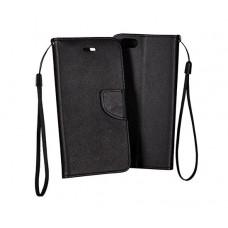 Xiaomi Redmi Note 9 Pro Fancy könyvtok - fekete
