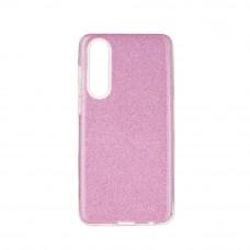 Huawei P40 Lite Glitter TPU - rózsaszín
