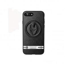 Apple iPhone X JOYROOM JR-MV004 Avengers Bőrhátlap - Iron Man