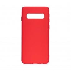Samsung S21 Plus Soft case szilikon - piros