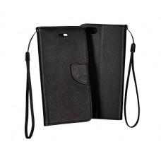 Samsung A41 Fancy Könyvtok - fekete