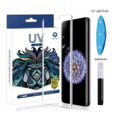 Xiaomi Mi Note 10/Note 10 Pro Lito UV Liquid Glue 3D Üvegfólia - Átlátszó