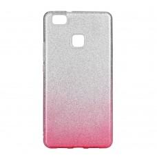 Huawei P9 Lite Mini Gradient Glitter TPU - rózsaszín