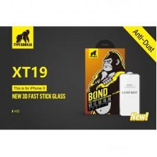 Huawei Honor 10 Type Gorilla 3D Fast Stick Corning HD Full Üvegfólia - Fekete