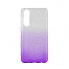Huawei P40 Lite Gradient Glitter TPU - lila