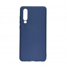 Huawei P40 Lite E Soft Case szilikon - kék