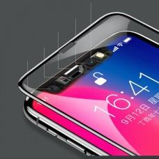 Baseus Apple iPhone X / XS / 11 Pro 3D üvegfólia - Fekete