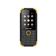 Blaupunkt Sand IP68 víz és ütésálló mobiltelefon készülék sárga-fekete