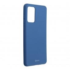Samsung S21 Plus Jelly szilikon hátlap - kék