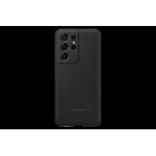 Samsung Galaxy S21 Ultra gyári szilikon hátlap - fekete