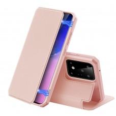 Samsung S20 SKY könyvtok - rose gold