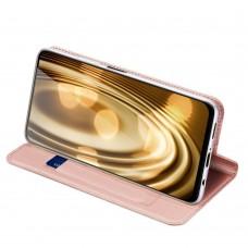 Apple iPhone 12 / 12 Pro 6.1 Luxury könyvtok-rose gold