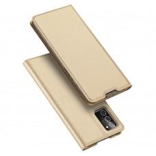 Apple iPhone 12 / 12 Pro 6.1 Luxury könyvtok-arany