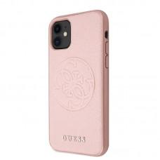 Apple iPhone 11 Pro Guess Erősített Hátlap - Rózsaszín