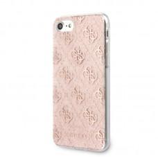 Apple iPhone 11 Guess Szilikon Csillogós Hátlap-  Rózsaszín