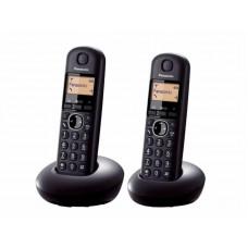 Panasonic KX-TGB212 Vezetéknélküli DECT Duo - Fekete