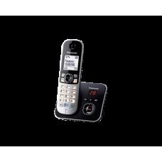 Panasonic KX-TG6821 Otthoni Hordozható Telefon Üzenetrögzítős, Kihangosítós - Fekete