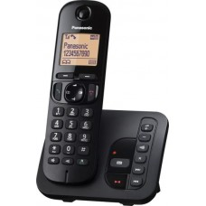 Panasonic KX-TGC220 Otthoni Hordozható Telefon Üzenetrögzítős - Fekete