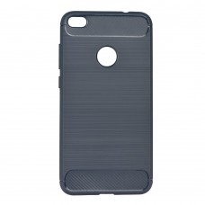 Samsung A41 Milled Carbon hátlap - sötétkék