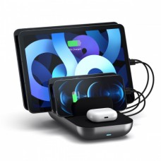 Satechi 5-Port USB Charging Station Dock with Qualcomm Certified Quick Charge 2.0 (ST-MCS5B)