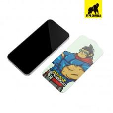 Apple iPhone 12 Mini Anti-Blue  Type Gorilla HD Full Üvegfólia - Fekete