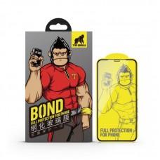 Apple iPhone 12 Mini Type Gorilla Bond Narrow Border 2.5D Silk Full Üvegfólia - Áttetsző