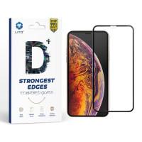 Apple iPhone SE 2020 Lito D 2.5D Full Üvegfólia - Fekete
