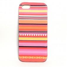 Apple iPhone 5/5S/SE szövet hátlap - design 11